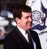 William L. Ball, at a ceremony, 7 October 1988.jpg