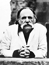 William Saroyan in the 1970s