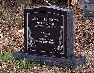 Willie Brown (musician) - Brown's grave at Shepard Church, Prichard, Mississippi