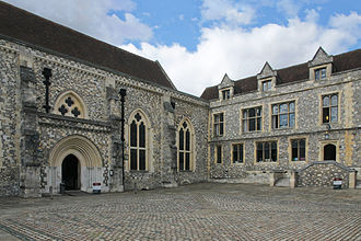 Winchester Castle - The Great Hall, built by Henry III