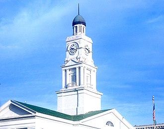Winchester, Kentucky - The Clark County Court House clock