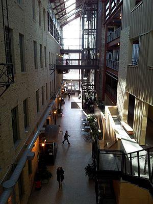 Red River College - Red River College's Roblin Centre atrium