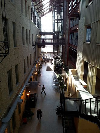Red River College - Red River College's Roblin Centre atrium