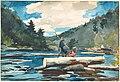 Winslow Homer - 'Hudson River' - Logging.jpg