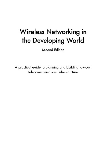 File:Wireless Networking in the Developing World (WNDW) Second Edition.pdf