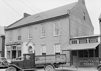Wirgman Building - Historic American Buildings Survey photograph of the Wirgman Building in 1937.