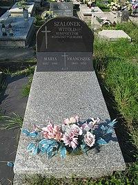 Witold Szalonek grave.jpg