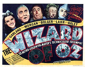 The Wizard of Oz (1939 film) - The Wizard of Oz theatrical poster