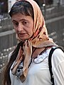 Woman in Street Market - Berehove - Ukraine (36533643141) (2).jpg