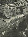 Woman watches cremation as her daughter sleeps, Bali, Wanita di Indonesia p32 (Charles Breyer).jpg