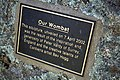 Wombat sculpture plaque at Wombat, NSW.jpg