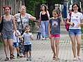 Women and Children in Street - Sofia - Bulgaria (41997321335).jpg