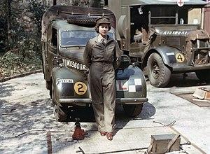 Austin K2/Y - Image: Women at War 1939 1945 TR2835