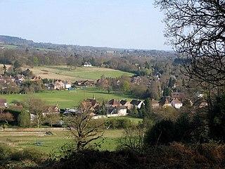 Wonersh Human settlement in England