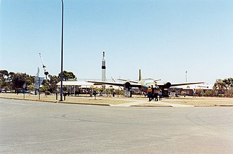 Woomera, South Australia - Northern section of Missile Park