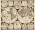 Worldmap with two hemispheres – 1702 – Print - Special Collections University of Amsterdam - HB-KZL 31.01.24.tif