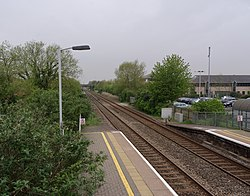 Worle railway station MMB 16.jpg