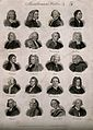 Writers; twenty portraits of essayists and novelists. Engrav Wellcome V0006818.jpg
