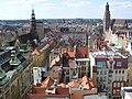 Wrocław, widok na rynek z Mostku Czarownic.jpg