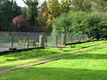 Wroxall Abbey retaining wall and gate piers.JPG