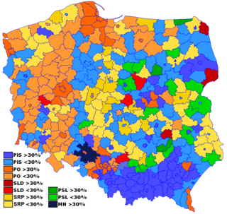 2005 Polish parliamentary election Parliamentary elections in Poland
