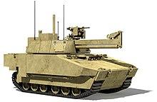 XM1202 Mounted Combat System (MCS)