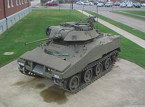 XM800 Armored Reconnaissance Scout Vehicle - XM800T on display at Fort Knox