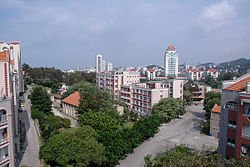A view of the Xiamen University campus