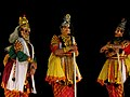 Yakshagana Performance at NINASAM (India Theatre Forum Stuyd Tour May 2013) (8764491322).jpg