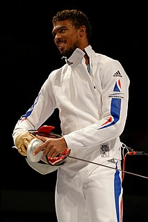 Yannick Borel French fencer