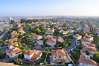 Yavne City in Israel