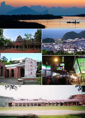 Yilan County, Taiwan - Image: Yilan County Montage