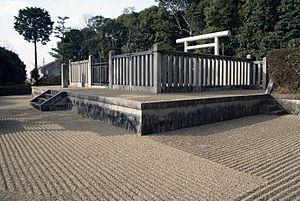 Emperor Yōmei - Memorial Shinto shrine and mausoleum honoring Emperor Yōmei.