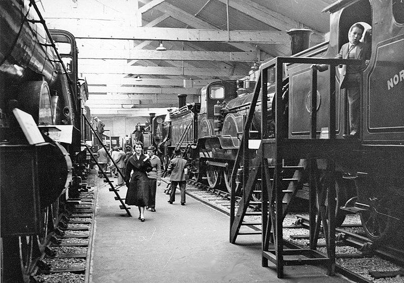 File:York Railway Museum (BR North Eastern Region), Interior - geograph.org.uk - 2091409.jpg