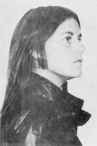Bernardine Dohrn - Image: Young Dohrn profile sketch