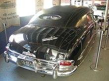 1951 hudson hornet limousine
