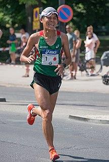 Yuki Kawauchi Japanese marathon runner
