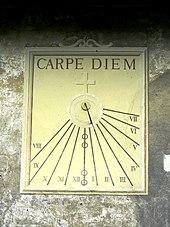 Carpe diem - Wikipedia