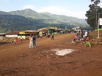 Gamo Gofa Zone - Zada town main road