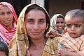 Zadi, with her son Tahir, Sindh, Pakistan (5367573164).jpg