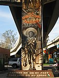 Mural of Emiliano Zapata at Chicano Park
