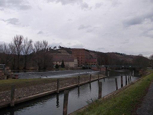 Zeddenbachmühle-Wehr