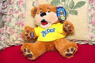 Zellers - A Zeddy Bear, as sold in the chain's last months