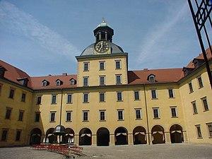 Schloss Moritzburg (Zeitz) - Inner courtyard