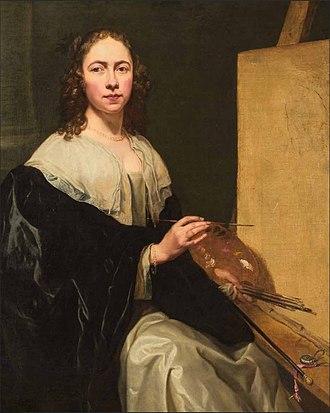 Michaelina Wautier - Self-portrait, 1649.