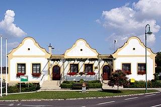 Zillingtal Place in Burgenland, Austria