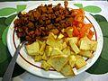 Zorza con patatas y tomate - 01.JPG