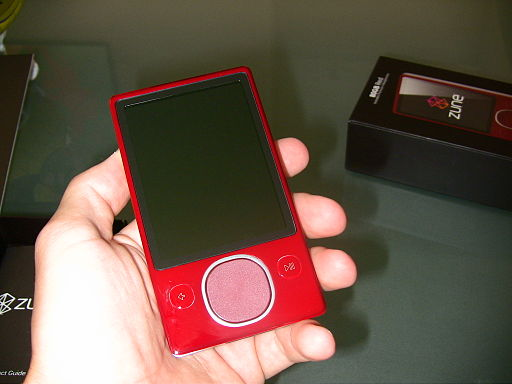 Zune red