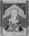 """Bahram Gur in the Dark Palace on Saturday"", Folio 207 from a Khamsa (Quintet) of Nizami MET 186740.jpg"