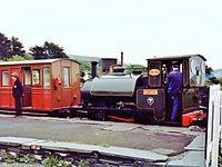 """""""Narrow Gauge Railway"""" """"Tal-y-Llyn Railway"""" """"Sir Haydn"""" Steam """"Steam Railway"""" (8062047014).jpg"""